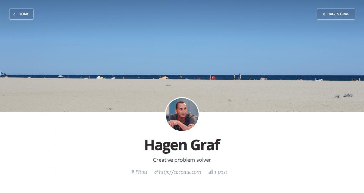 Ein Blog mit Ghost und Node.js