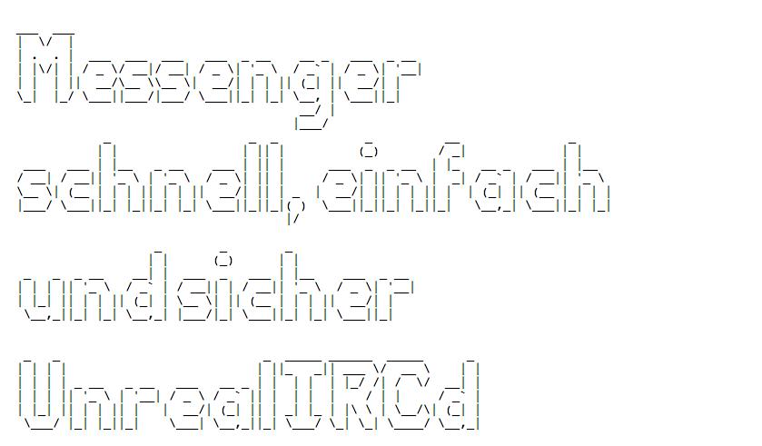 Messenger – Schnell, Einfach, Sicher – IRC