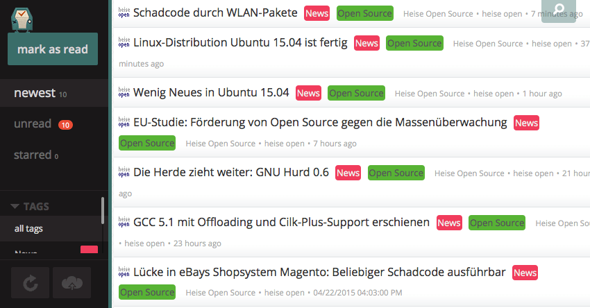 Heise Open Source Feed