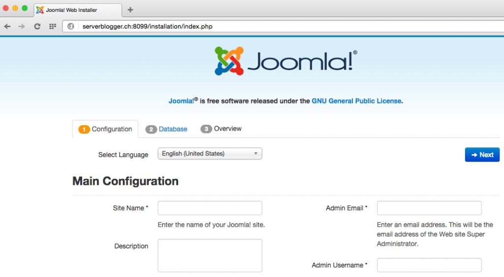 Joomla Installer