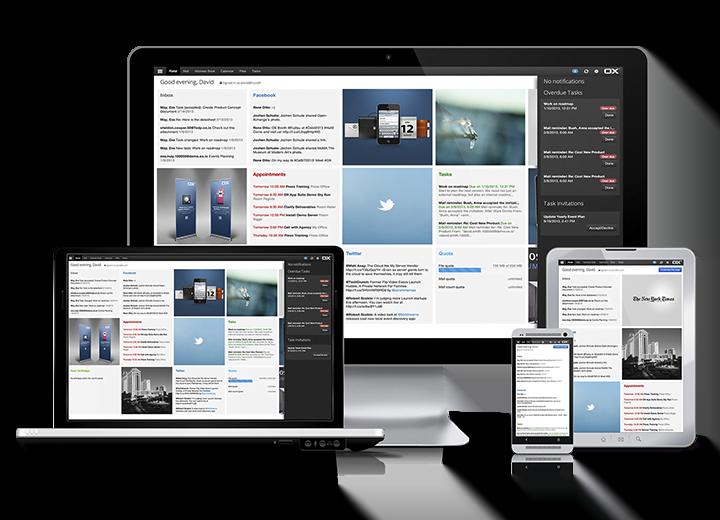 OX App Suite für unsere Hosting-Kunden