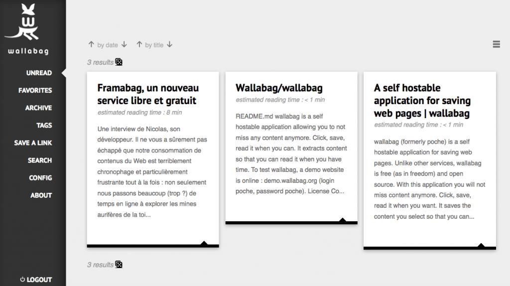 Wallabag Web