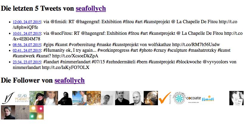 Tweets und Follower von @seafollych