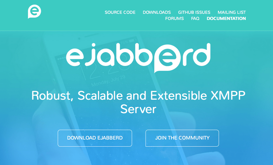 Website eJabberd