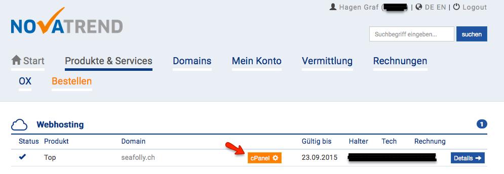 novatrend.ch Produkte & Services