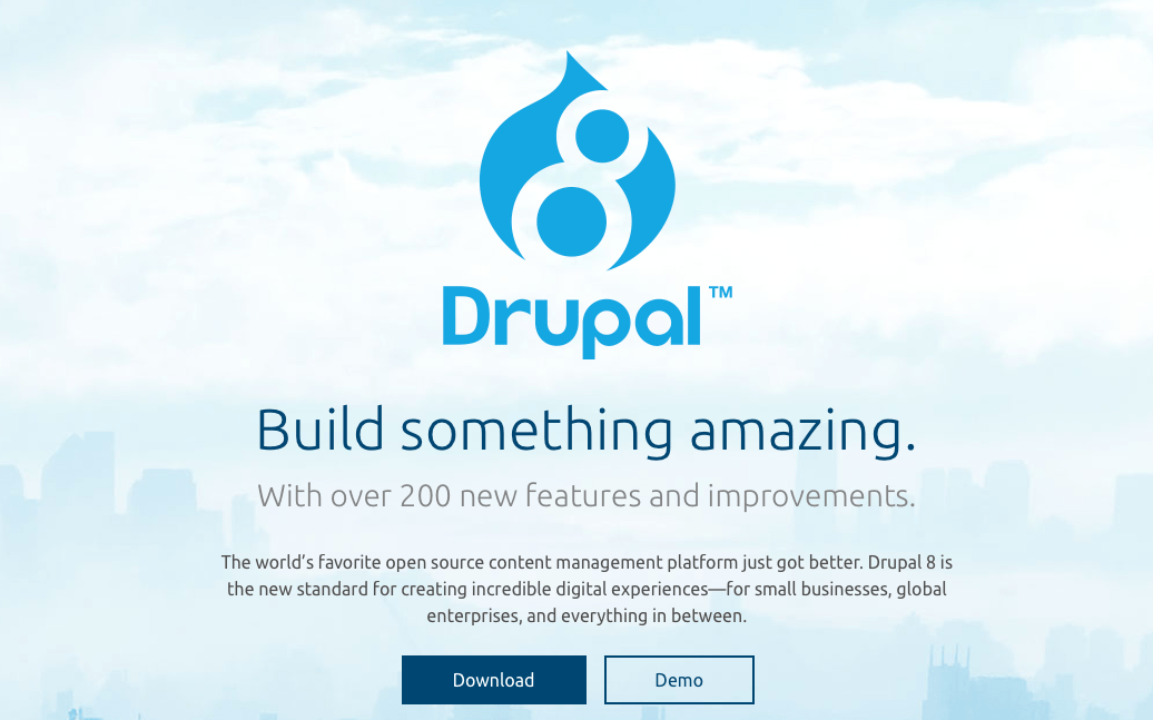 Drupal 8 is here