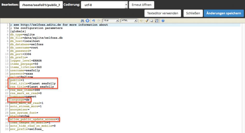 cPanel - Code Editor