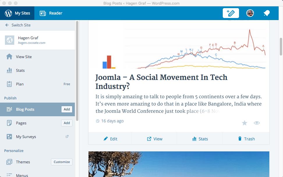 Die Vernetzer: WordPress Calypso & Jetpack