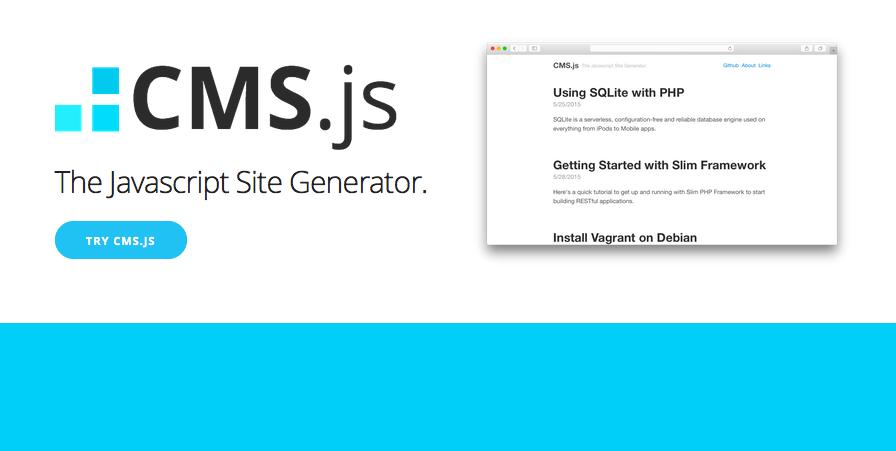 CMS.js – Der JavaScript Site Generator