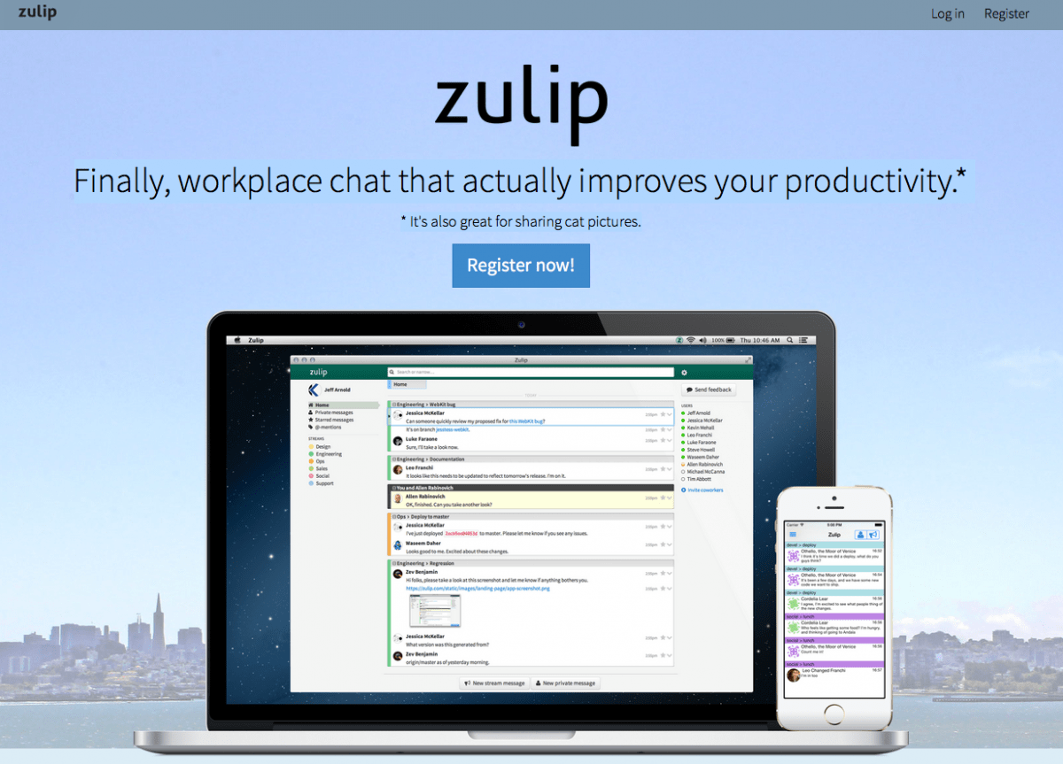 Zulip - open source group chat