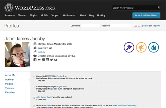 BuddyPress – Ein Social Network