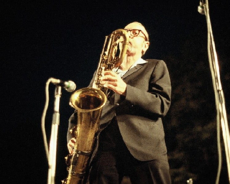 Pepper Adams performing at the Grande Parade du Jazz in Nice, France, 1978 - CC BY-SA 3.0 -Wikipedia https://en.wikipedia.org/wiki/Pepper_Adams