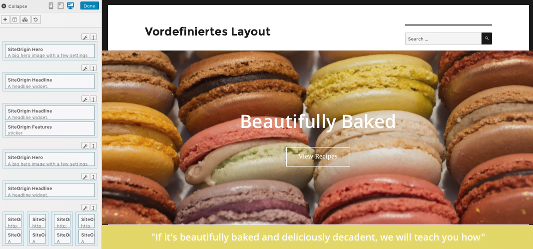 Responsive Layouts mit dem WordPress Plugin Page Builder
