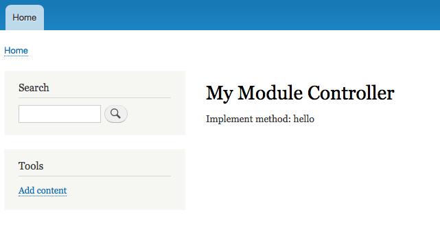 Ein Modul für Drupal 8 entwickeln
