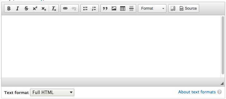 Drupal 8 - CKEditor - Format Full HTML