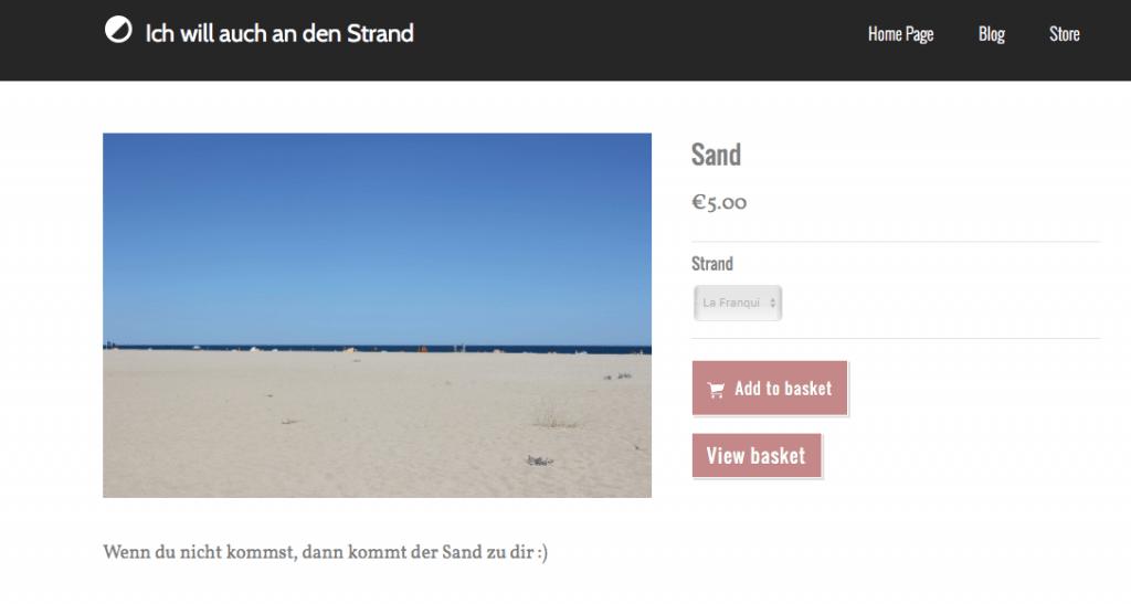 Sand kaufen