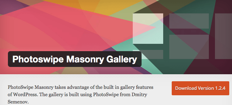 PhotoSwipe Masonry Gallery