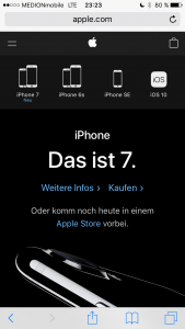 apple.com - Mobile