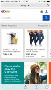 Ebay - Mobile