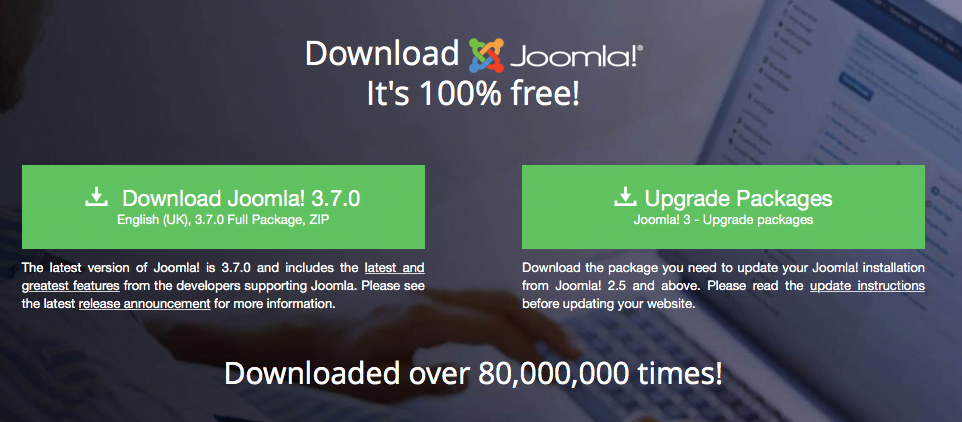 Joomla - Download Bereich