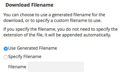 Dateiname des Sicherungspakets