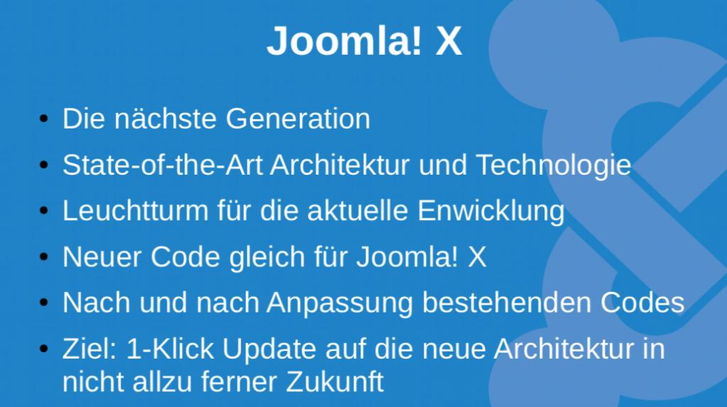 Schritt 2 - Joomla X