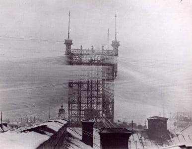 Phone Tower - Stockholm 1887