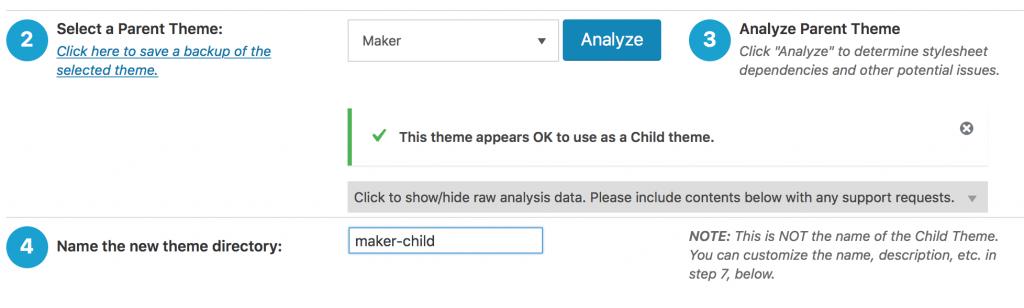 Child Theme erstellen