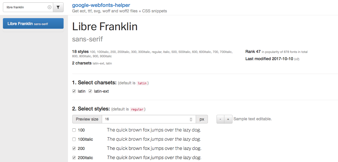 Google Fonts in WordPress lokal einbinden