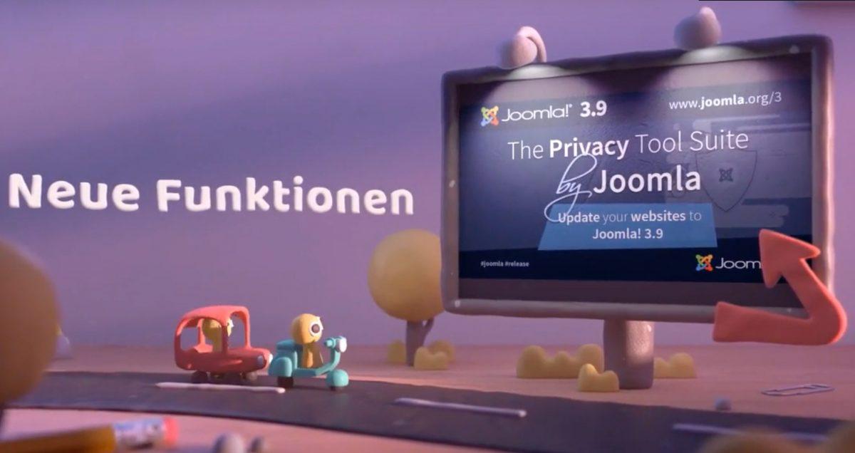 Joomla 3.9 und der Datenschutz