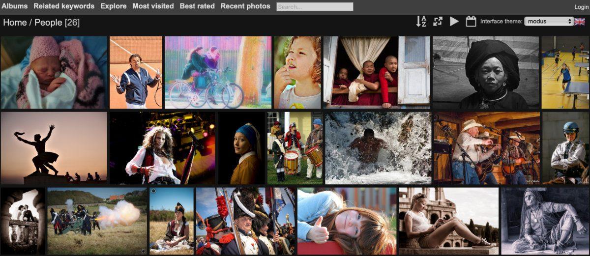 Von Flickr zu Piwigo