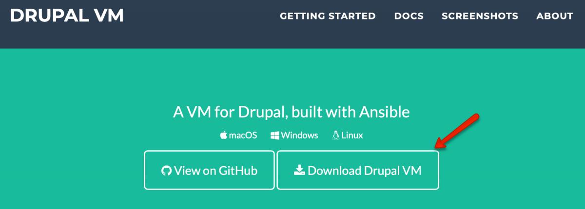 Eine lokale Entwicklungsumgebung mit Drupal VM