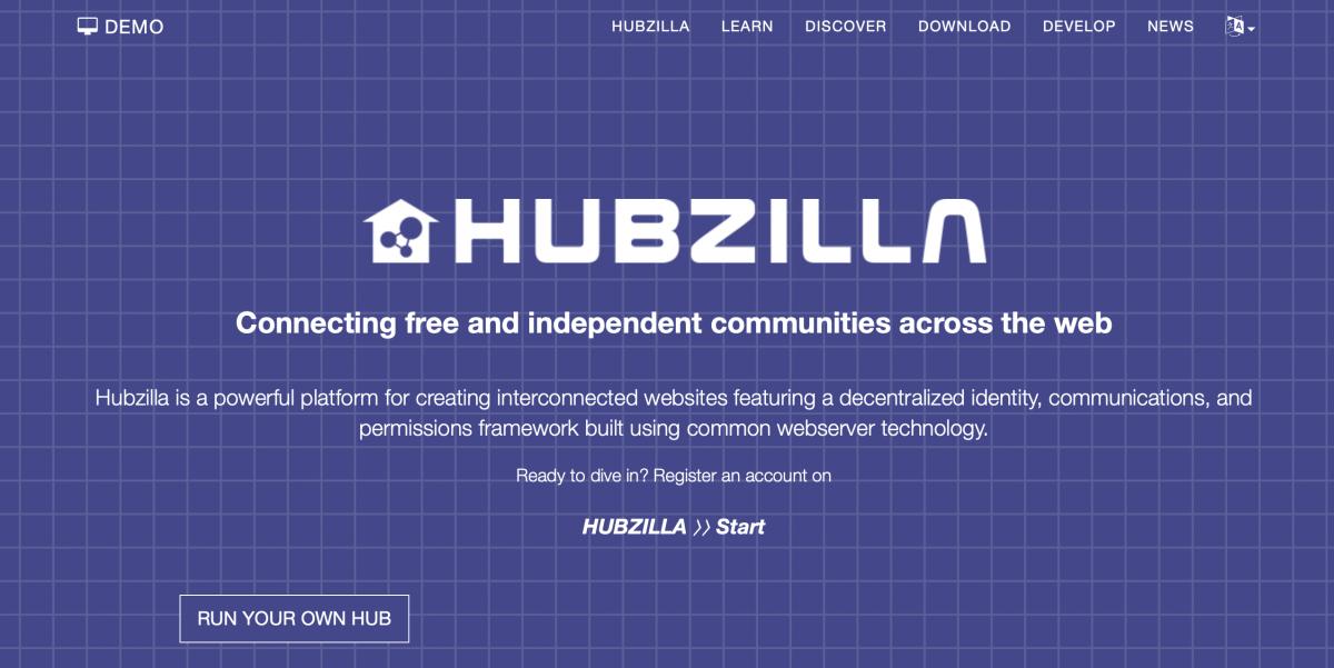 Soziales Content Management mit Hubzilla