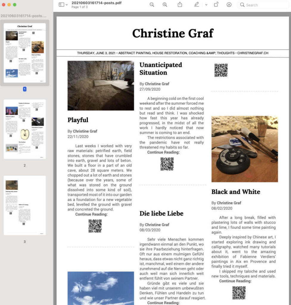 Newspaper als PDF