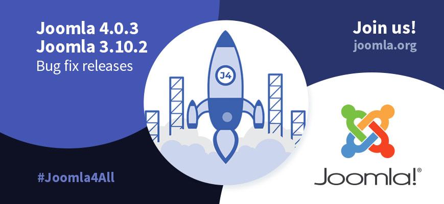 Joomla 4.0.3 und 3.10.3